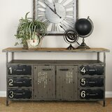 Beretta Metal and Wood Sideboard by Williston Forge