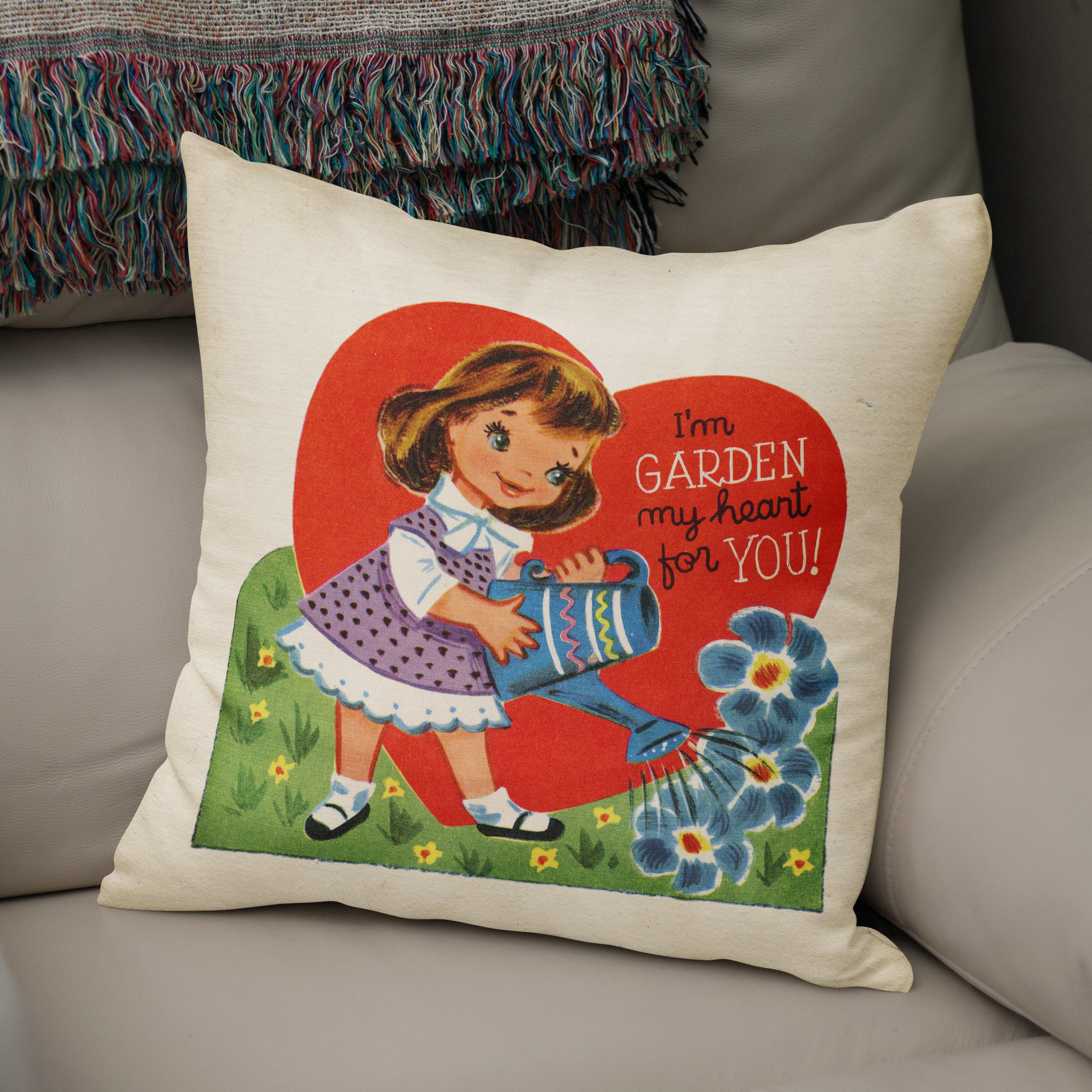 Kavka Garden My Heart For You Accent Cotton Throw Pillow Wayfair