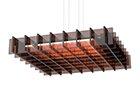 Pablo Designs Grid LED Square/Rectangle Pendant