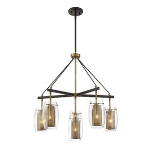 Mercury Row Depp 6-Light Shaded Chandelier