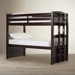Grier Hammond Twin over Twin Bunk Bed with Ladder