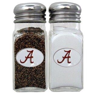 NCAA 2 Piece Salt and Pepper Shaker Set By Siskiyou Gifts