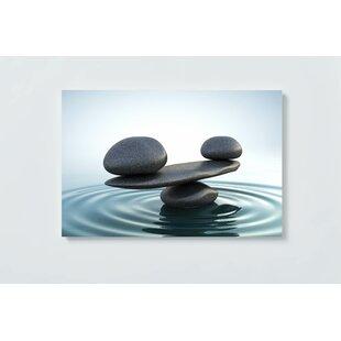 Stones Motif Magnetic Wall Mounted Cork Board By Ebern Designs