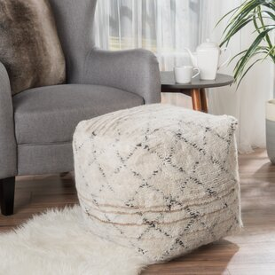 Rosales Pouf by Wrought Studio