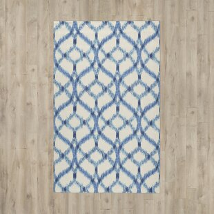 Stewart Hand-Tufted Aegean Indoor/Outdoor Area Rug