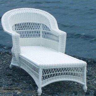 August Grove Camacho Chaise Lounge with Cushion