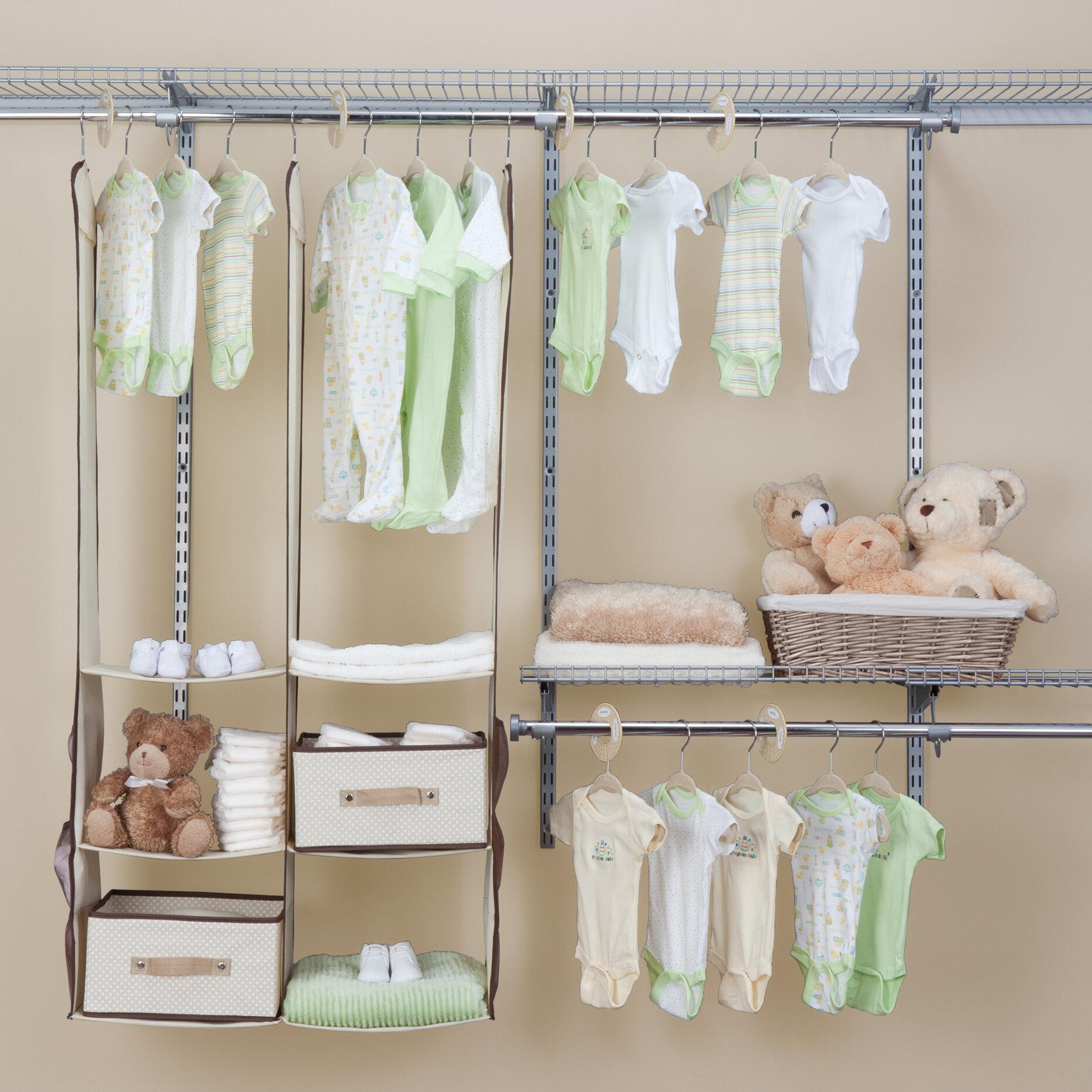 Nursery Closet Organizer 24 Piece Set