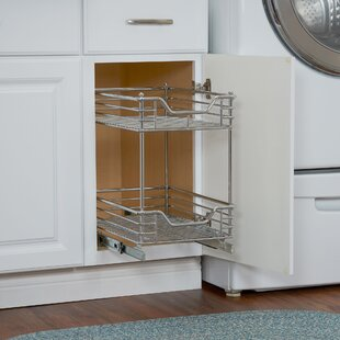 Cassity 2 Tier Sliding Pull Out Drawer