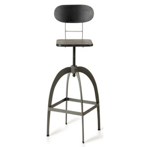Sheree Swivel Metal Bar Stool by 17 Stories