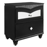 Farish 2 Drawer Nightstand by Everly Quinn