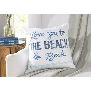 Azariah Love You To The Beach Throw Pillow