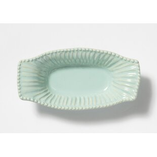Incanto Stone Oval Stripe Au Gratin Dish