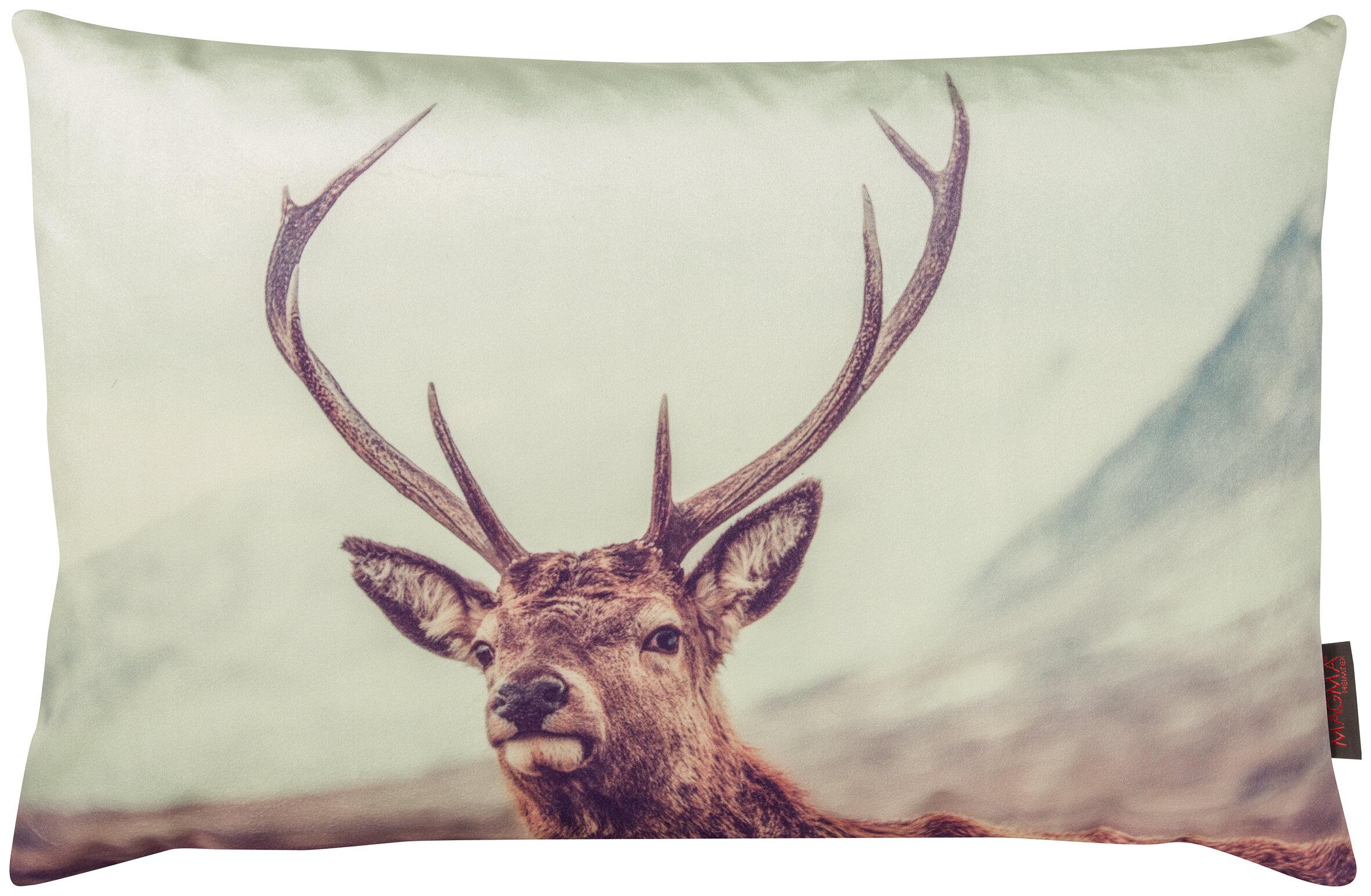 Gouchee Home Into The Wild Deer Lumbar Pillow Wayfair