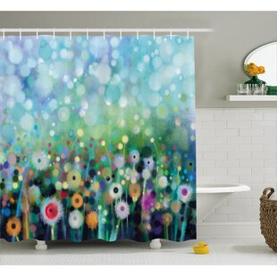 Searching for Hailey Dandelion Seeds Shower Curtain ByWinston Porter