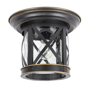 Comparison Vincent Outdoor Flush Mount By Breakwater Bay