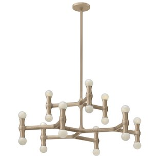 Hinkley Lighting Karma 18-Light Candle-Style Chandelier