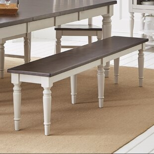 Alcott Hill Hickerson Wood Bench