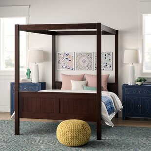 Annette Full Canopy Bed by Mistana Spacial Price