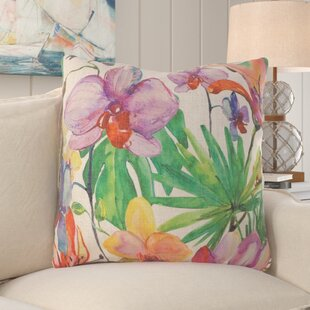 Summer Island Paradise Throw Pillow