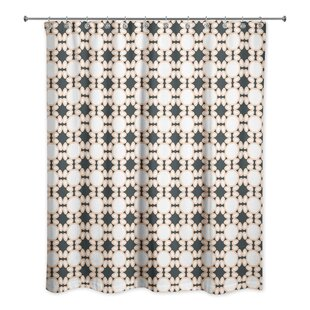Grier Lattice Single Shower Curtain