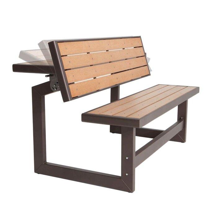 amazon ca bench table lifetime picnic person patio hunter lawn garden green folding dp