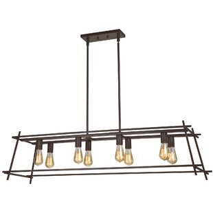 Woodfin 8-Light Kitchen Island Pendant