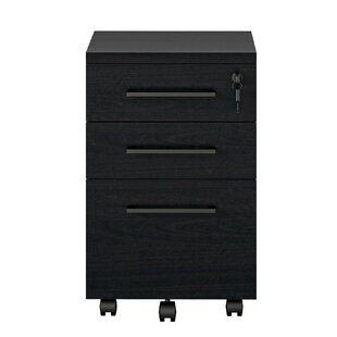 Iona 3-Drawer Mobile Vertical Filing Cabinet