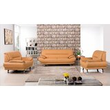 Modern & Contemporary Italian Leather Sofa Sets | AllModern