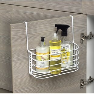 Spectrum Diversified Duo Over the Cabinet Towel Bar and Basket
