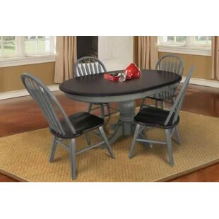 August Grove Adalberto Extendable Solid W..