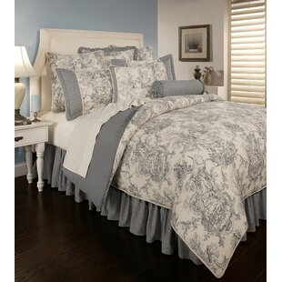 Sherry Kline Cotton 6 Piece Reversible Comforter Set
