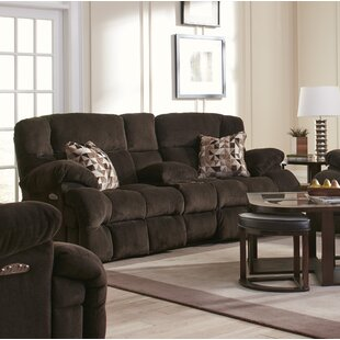Brice Reclining Loveseat by Ca..