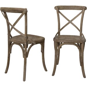 Madison Solid Wood Dining Chair (Set of 2..