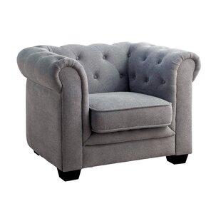 Brayden Chestefield Chair by Viv + Rae