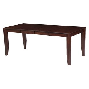 TTP Furnish Charlotte Extendable Dining Table