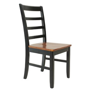 Latitude Run Dinsmore Solid Wood Dining Chair