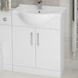 BeModern Bathrooms 65 cm Waschtisch Omaha mit Sc..