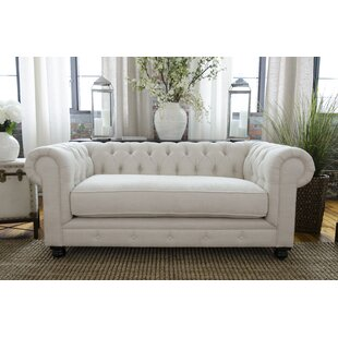 Fiske Chesterfield Loveseat