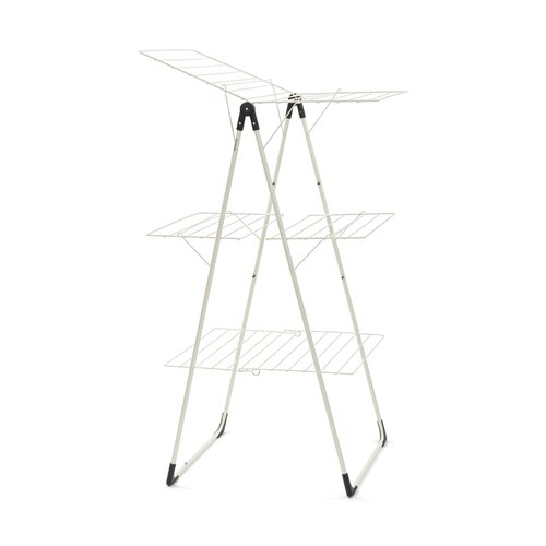 Brabantia Tower Clothes Airer Drying Rack, White