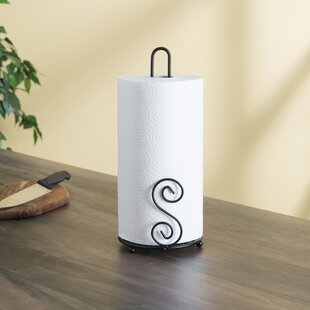 Free Standing Paper Towel Holder by Home Basics Wonderful