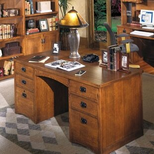 Benno Double Pedestal Executive Desk