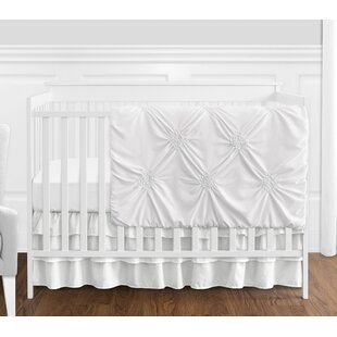 White Crib Bedding Pieces You Ll Love Wayfair