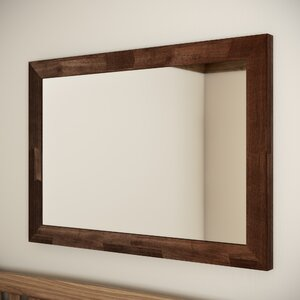 Kortright Rectangle Wenge Mirror