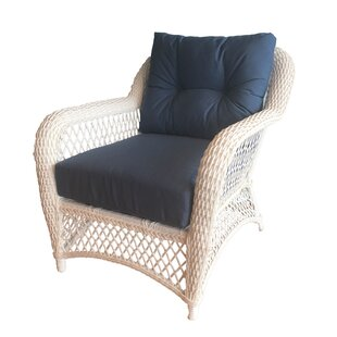 August Grove Elkin Patio Chair with Cushi..