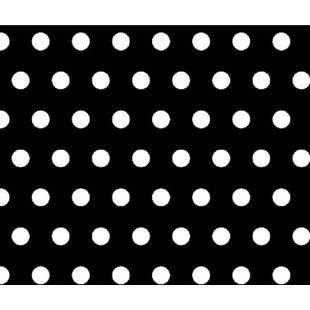 Best Deals Polka Dots Travel Crib Light Fitted Crib Sheet BySheetworld