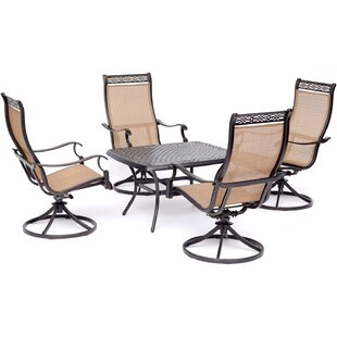 Buariki 5 Piece Dining Set