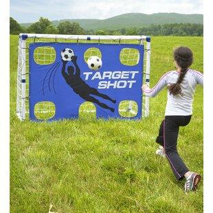 HearthSong Goal for It! 3-in-1 Trainer Goal Soccer Equipment