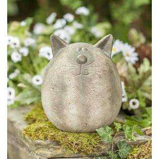 Ceramic Cat Statues | Wayfair