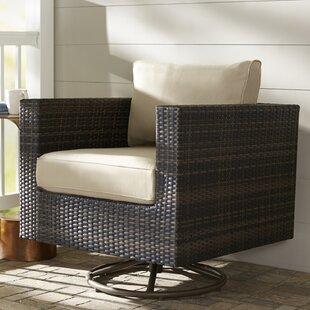Barwick Swivel Patio Chair with Cushion