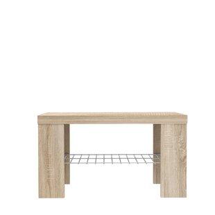 Pasillas Wood Storage Bench By Mercury Row
